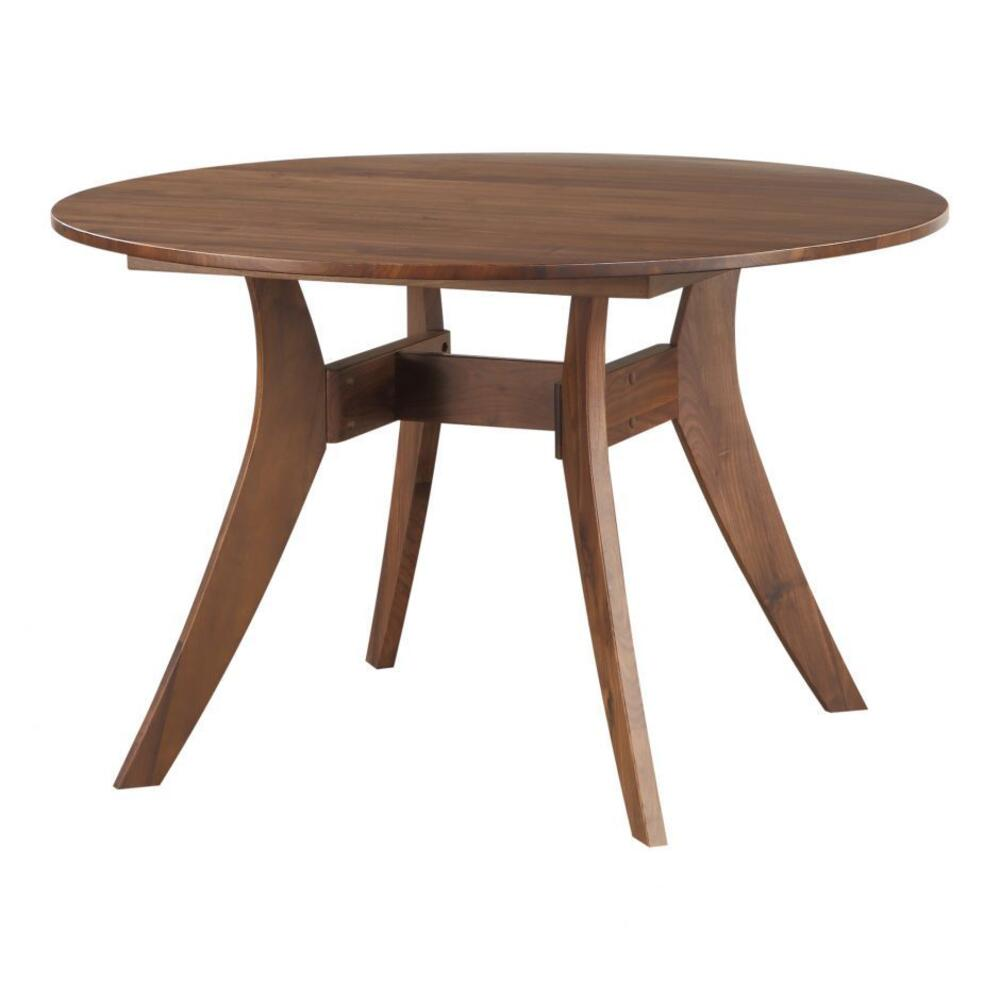 Florence Round Dining Table Walnut 42""""""