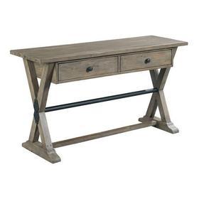 Reclamation Place Trestle Sofa Table