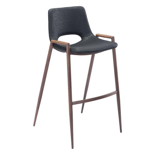 See Details - Desi Bar Chair Black