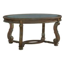1-6100 Napa Valley Oval Coffee Table