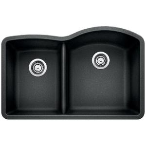 Diamond 1-3/4 Bowl Reverse With Low Divide - Anthracite