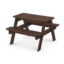 View Product - Kids Picnic Table in Mahogany