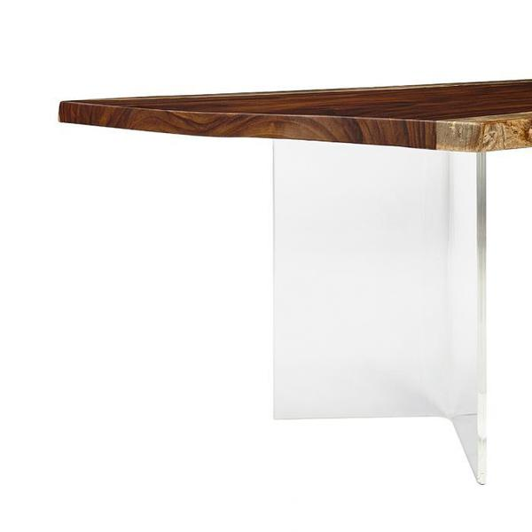See Details - Acrylic Wedge Dining Height Base
