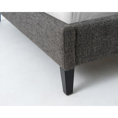 Four Hands - King Size Bristol Charcoal Cover Madison Bed