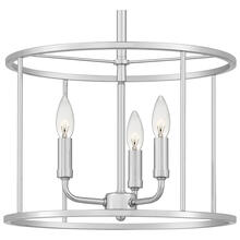 Abner Pendant in Polished Chrome