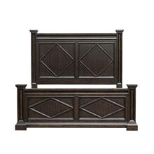 Canyon Creek Queen Headboard in Brown