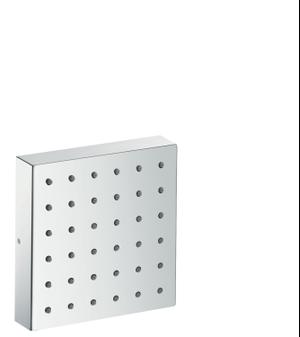 Chrome Shower module 120/120 for concealed installation square Product Image