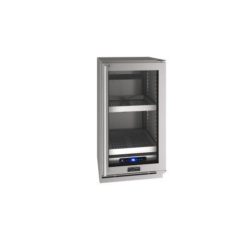"18"" Refrigerator With Stainless Frame Finish (230 V/50 Hz Volts /50 Hz Hz)"