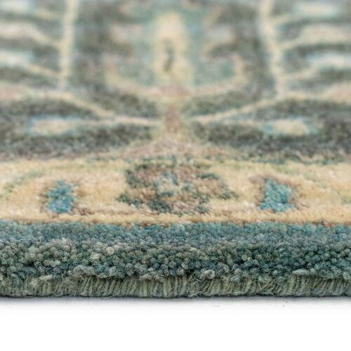Capel Rugs - Izmir-Persian Cedars Dusty Blue - Rectangle - 3' x 5'