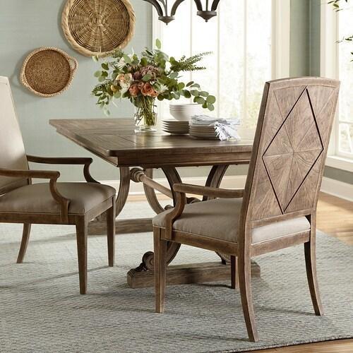 Bassett Furniture - Woodridge Upholstered Back Arm Chair
