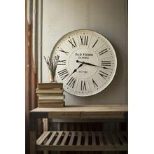See Details - enameled wall clock