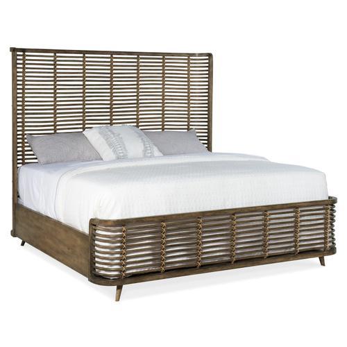 Hooker Furniture - Sundance Queen Rattan Bed