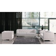 See Details - Divani Casa Windsor - Modern Tufted Eco-Leather Sofa Set