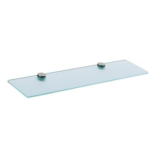 Chrome Glass shelf