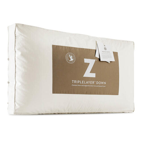 Z TripleLayer Down Pillow Queen