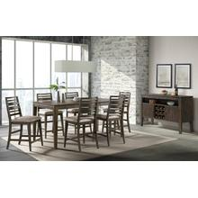 See Details - 7 Piece Set (Pub Table and 6 Barstools)