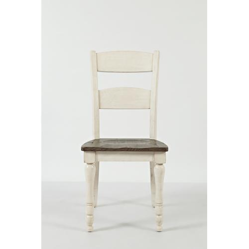 Madison County Ladderback Dining Chair Vintage White