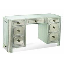 Mirrored Knee Hole Desk