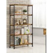 Barritt Industrial Antique Nutmeg Bookcase Product Image