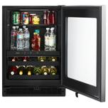 Whirlpool 24-inch Wide Undercounter Beverage Center with Towel Bar Handle- 5.2 cu. ft.