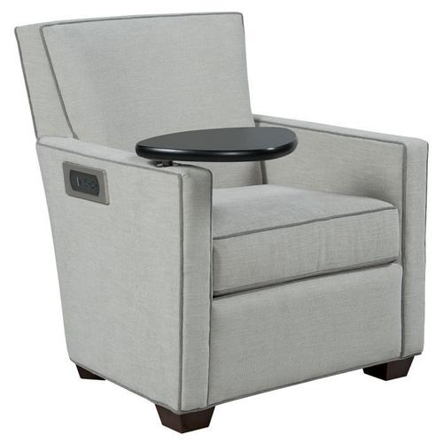 Fairfield - Craven Lounge Chair with Left Side Facing Tablet and Charging Station