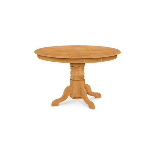 John Thomas Furniture - Round Pedestal Table (top only) / Turned Pedestal