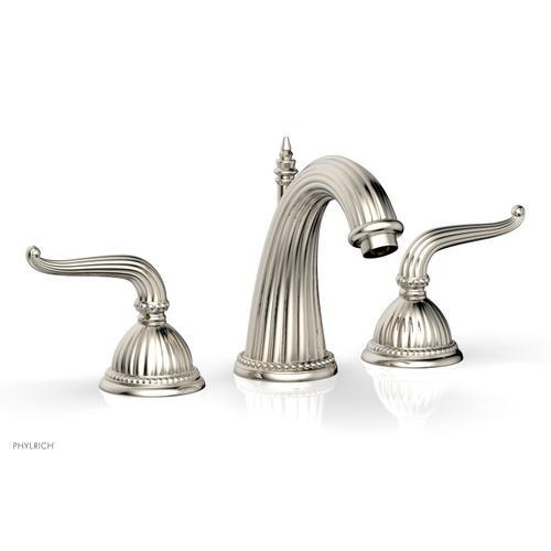 GEORGIAN & BARCELONA Widespread Faucet High Spout K360 - Polished Nickel