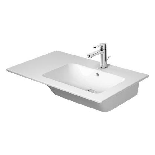 Duravit - Me By Starck Furniture Washbasin Asymmetric 3 Faucet Holes Punched