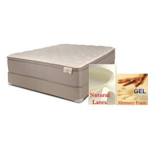 Kingsbury - All Foam - Gel And Latex - Pillow Top - Twin