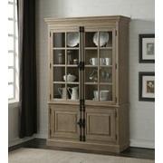 ACME Eleonore Curio Cabinet - 61303 - Weathered Oak Product Image
