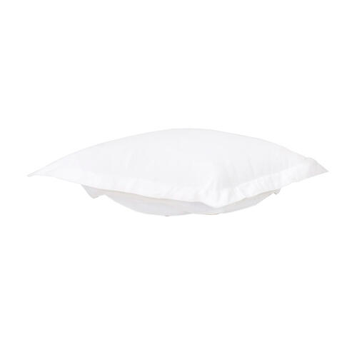 Puff Chair Ottoman Seascape Natural Cushion and Cover