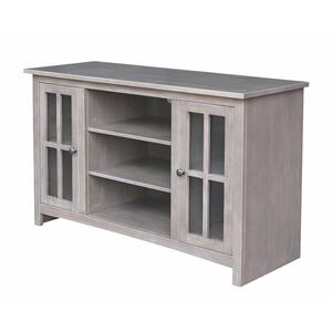 JOHN THOMAS FURNITURE48'' TV Stand in taupe Gray
