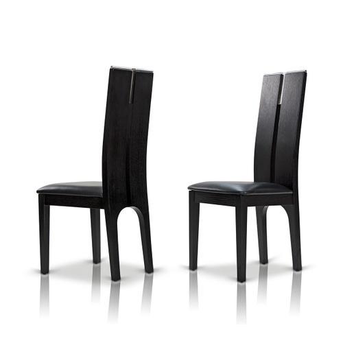 VIG Furniture - Modrest Maxi Black Oak Dining Chair (Set of 2)