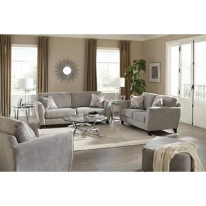 4215-03 ALYSSA SOFA in 2072-18 PEBBLE