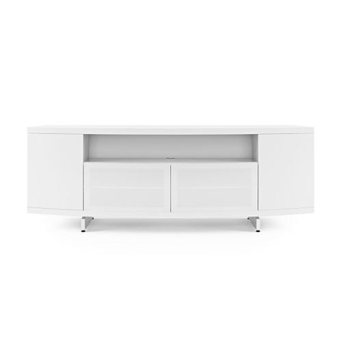 Media Console 8438 in Smooth Satin White