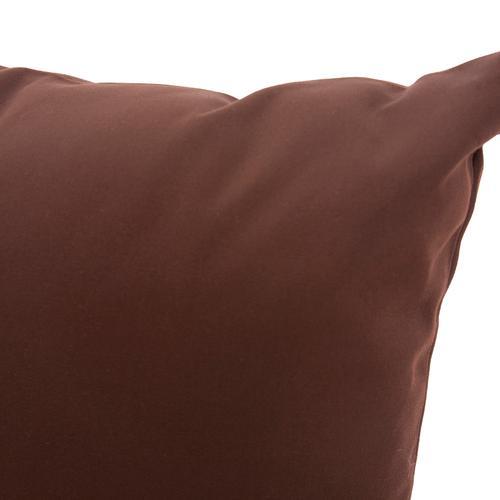 "20"" x 20"" Pillow Seascape Chocolate"