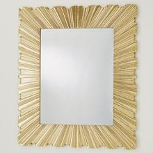 See Details - Linenfold Mirror-Silver-Lg