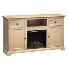 See Details - FT72A Extra Tall Fireplace Custom TV Console