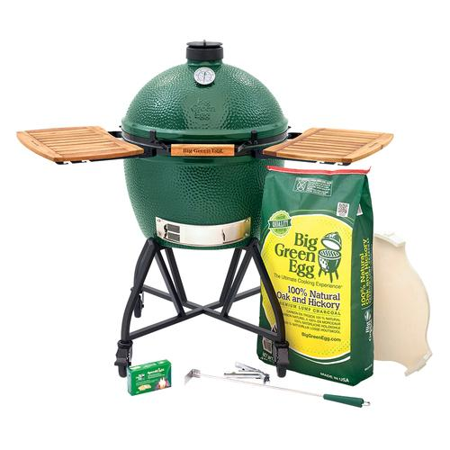 Big Green Egg - XLarge EGG in an intEGGrated Nest+Handler with Mates Package