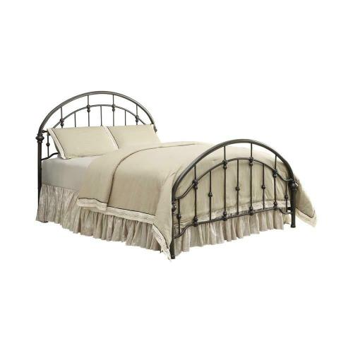 Maywood Transitional Black Metal Full Bed