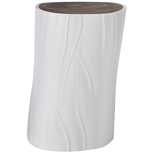Paseo Accent Table in Smoked Truffle