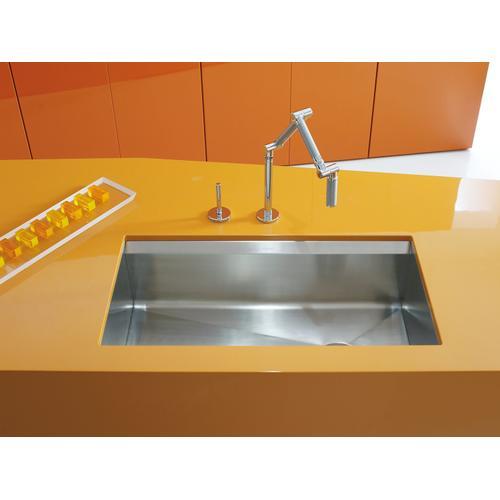 "33"" X 18"" X 10"" Undermount Large Single-bowl Kitchen Sink"