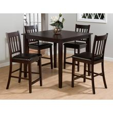 Marin County 5 Pack -counter Table W/(4) Stools