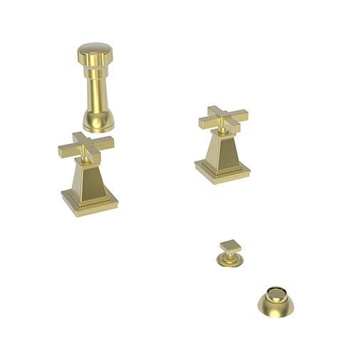 Newport Brass - Satin Brass - PVD Bidet Set