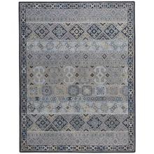 Izmir-Afghan Grey - Rectangle - 5' x 8'