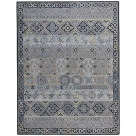 Izmir-Afghan Grey - Rectangle - 5' x 8'