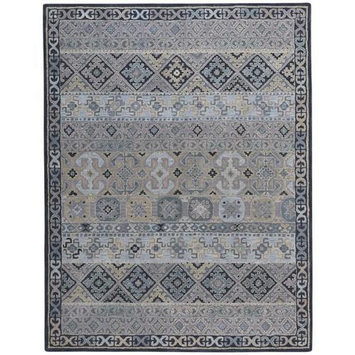 Capel Rugs - Izmir-Afghan Grey - Rectangle - 5' x 8'