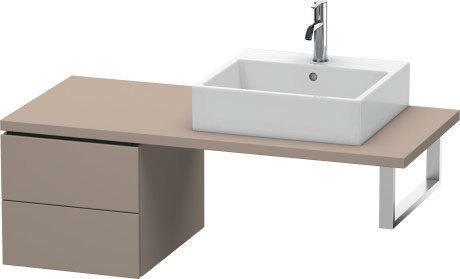 Low Cabinet For Console, Basalt Matte (decor)