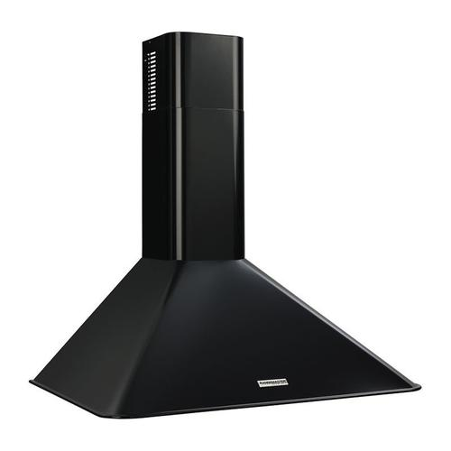 "Broan 290 CFM, 30"" Wall-Mounted Chimney Hood in Black"