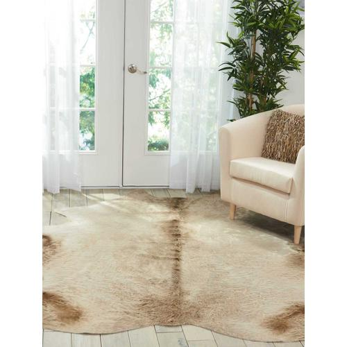 Couture Rug Br302 Grey 5' X 7' Throw Rug